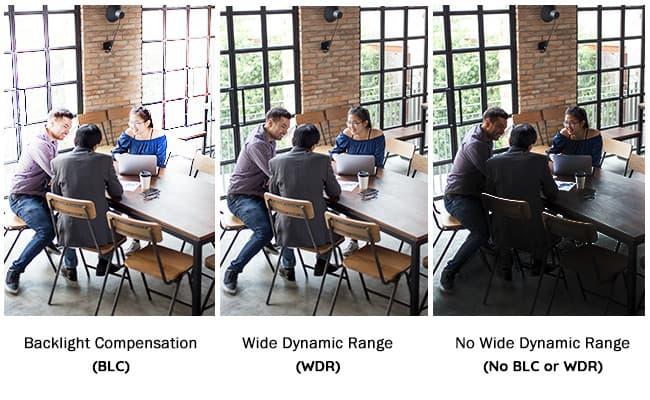 Широкий динамический диапазон в IP камерах