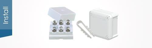 Монажные коробочки, кабель-каналы