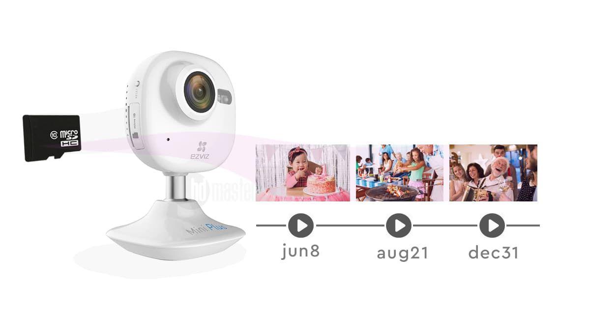 Домашняя съёмка с помощью IP камеры