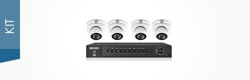 Комплект HD-TVI видеонаблюдения